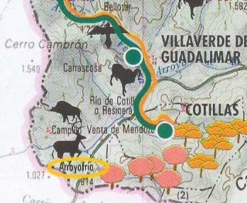 Mapa zona
